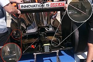 Técnica: McLaren realiza varias pruebas en la parte trasera del MP4-31 en Austin
