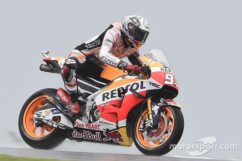 MotoGP Phillip Island: Turbulentes 3. Training auf feuchter Strecke