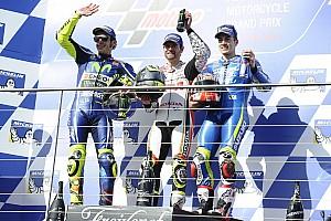 MotoGP 比赛报告 MotoGP澳大利亚正赛:克拉奇罗战胜罗西夺冠 马奎兹摔车退赛