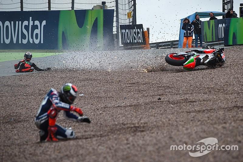 """【MotoGP】3クラス合計""""1000""""クラッシュ突破。GPクラスの転倒増で史上初……"""