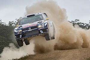 WRC Отчет о секции Миккельсен лидирует в Австралии, Латвала выбыл из борьбы