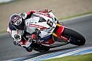 Superbike-WM Bildergalerie: Stefan Bradl testet sein neues Honda-Superbike