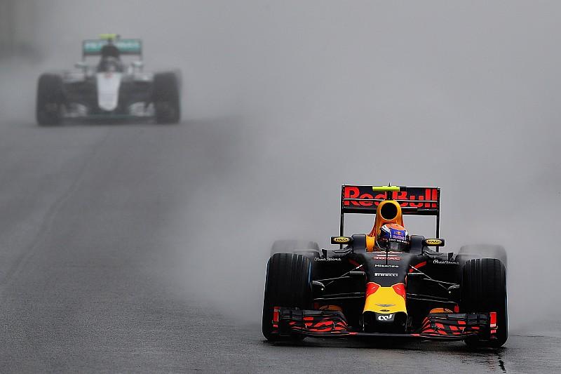 【F1】ブラジルで賞賛されたフェルスタッペン「最終戦はおそらく3位が目標になる」