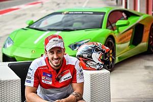 MotoGP Noticias de última hora Dovizioso correrá en Valencia con un Lamborghini