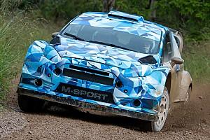 WRC Test Sébastien Ogier ha provato anche la Ford Fiesta RS WRC 2017