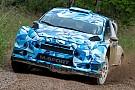 WRC Sébastien Ogier ha provato anche la Ford Fiesta RS WRC 2017