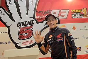 MotoGP Noticias de última hora Márquez da brincos rodeado de niños