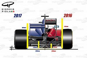 Tech analyse: De uitdagingen die de F1-teams in 2017 te wachten staan