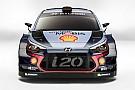 WRC 【WRC】ヒュンダイ、2017年規定WRカーを公開。ドライバーラインアップに変更なし