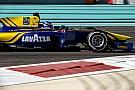 GP2 Latifi sluit GP2-test in Abu Dhabi als snelste af, De Vries elfde