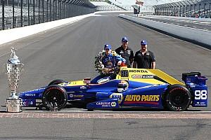 IndyCar Важливі новини Машину переможця Інді-500 Александра Россі буде виставлено в музеї IMS