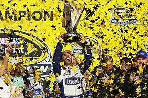 Monster Energy NASCAR Cup Artículo especial Top de historias 2016, #9: Jimmie Johnson logra su séptimo campeonato