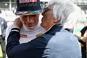 Ecclestone wijst Verstappen aan als zijn favoriete jonge coureur