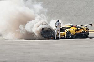 IMSA Noticias de última hora Fassler escapa sin lesiones de un incendio en Daytona