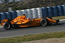 Formel 1 2006: Als McLaren in Orange testete