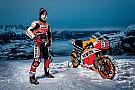MotoGP VÍDEO: Marc Márquez anda com Honda na neve