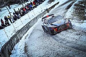 WRC Resumen de la etapa Neuville toma la punta en el primer día de Montecarlo