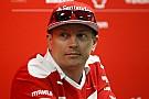Forma-1 Räikkönen megtisztelő kitüntetést kapott: szokatlan köszönetet mondott