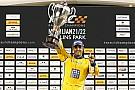 General Montoya gana la Carrera de Campeones en su debut