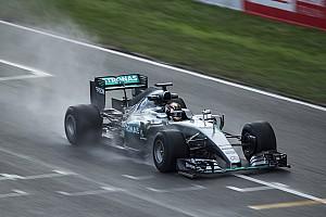 Formule 1 Nieuws Pirelli wil minstens één natte testdag in Barcelona