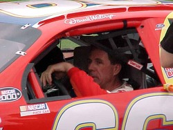 Darrell Waltrip before qualifying