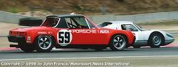 1971 Porsche 914/6 GT - Hurley Haywood/Brumos (turn 2)