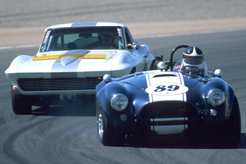 Cobra vs. Corvette