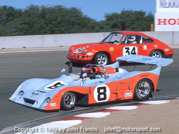 1972 Gulf Mirage M6 & 1971 Porsche 911ST