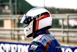 Jean Alesi's helmet