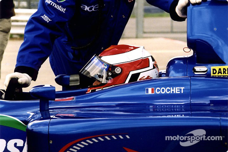 Jonathan Cochet in the pits