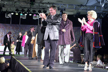 Johnny and Betty Rutherford lead the Grand Finale