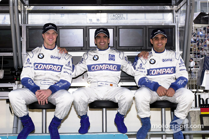 Ralf Schumacher, Marc Gene, Juan Pablo Montoya