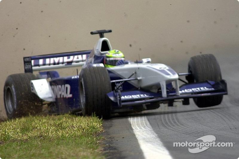 Ralf Schumacher on the edge
