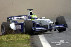 Ralf Schumacher on the edge