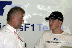 Willy Webber and Ralf Schumacher