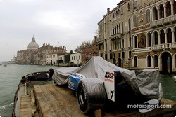 Birth in Venice: the B201 approaching St. Mark's Square in Venice