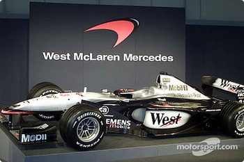 The McLaren Mercedes MP4-16