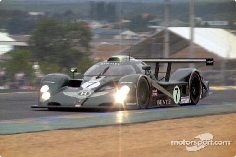 Bentley into Dunlop