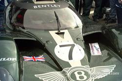Rain starts to fall on Bentley