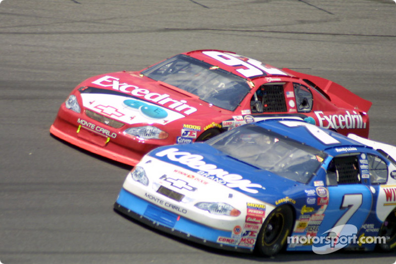 Jimmie Johnson  and Randy Lajoie