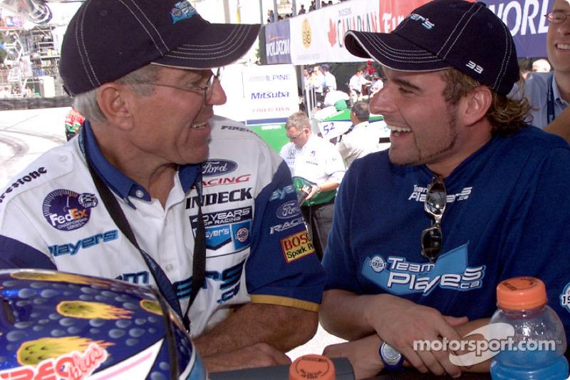 Tony Cicale and Alex Tagliani