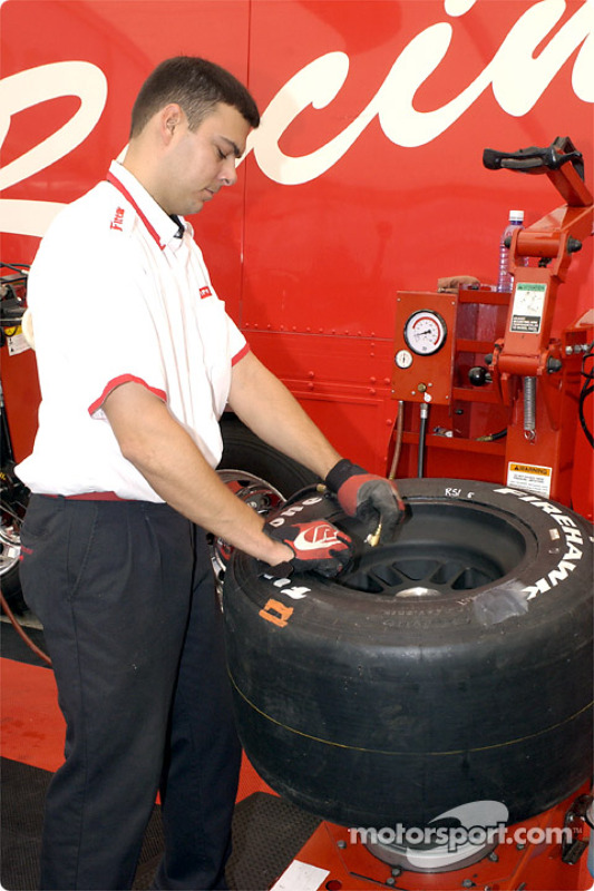 Visit at Firestone garage