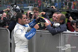 Juan Pablo Montoya and dad Juan