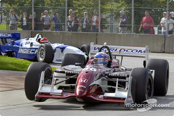 Alex Zanardi and Bryan Herta