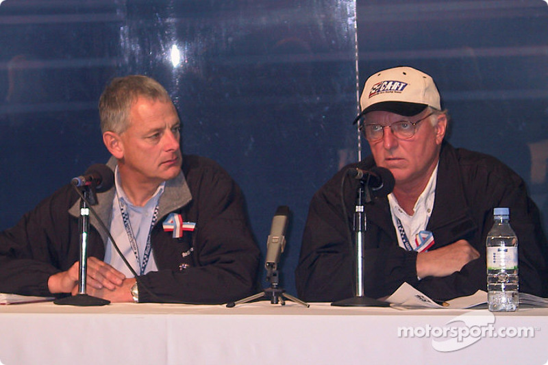 CART press conference