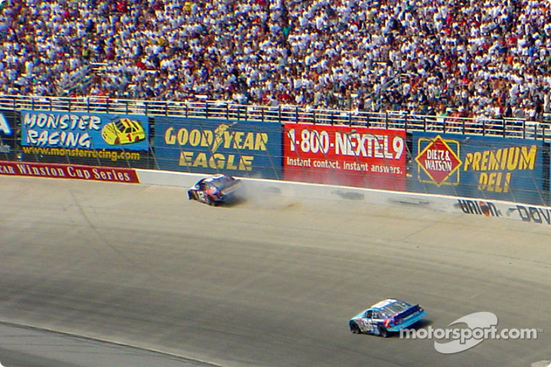 Jeremy Mayfield in the wall