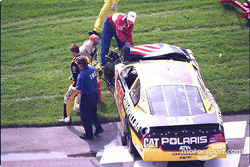 Ward Burton out of the race