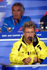 Friday press conference: Eddie Jordan and Flavio Briatore