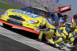 Pitstop for Kevin Lepage after running out of gas