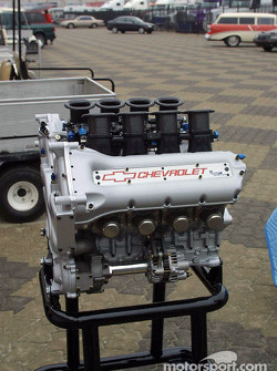 Presentation of the new Chevy Indy V8 engine